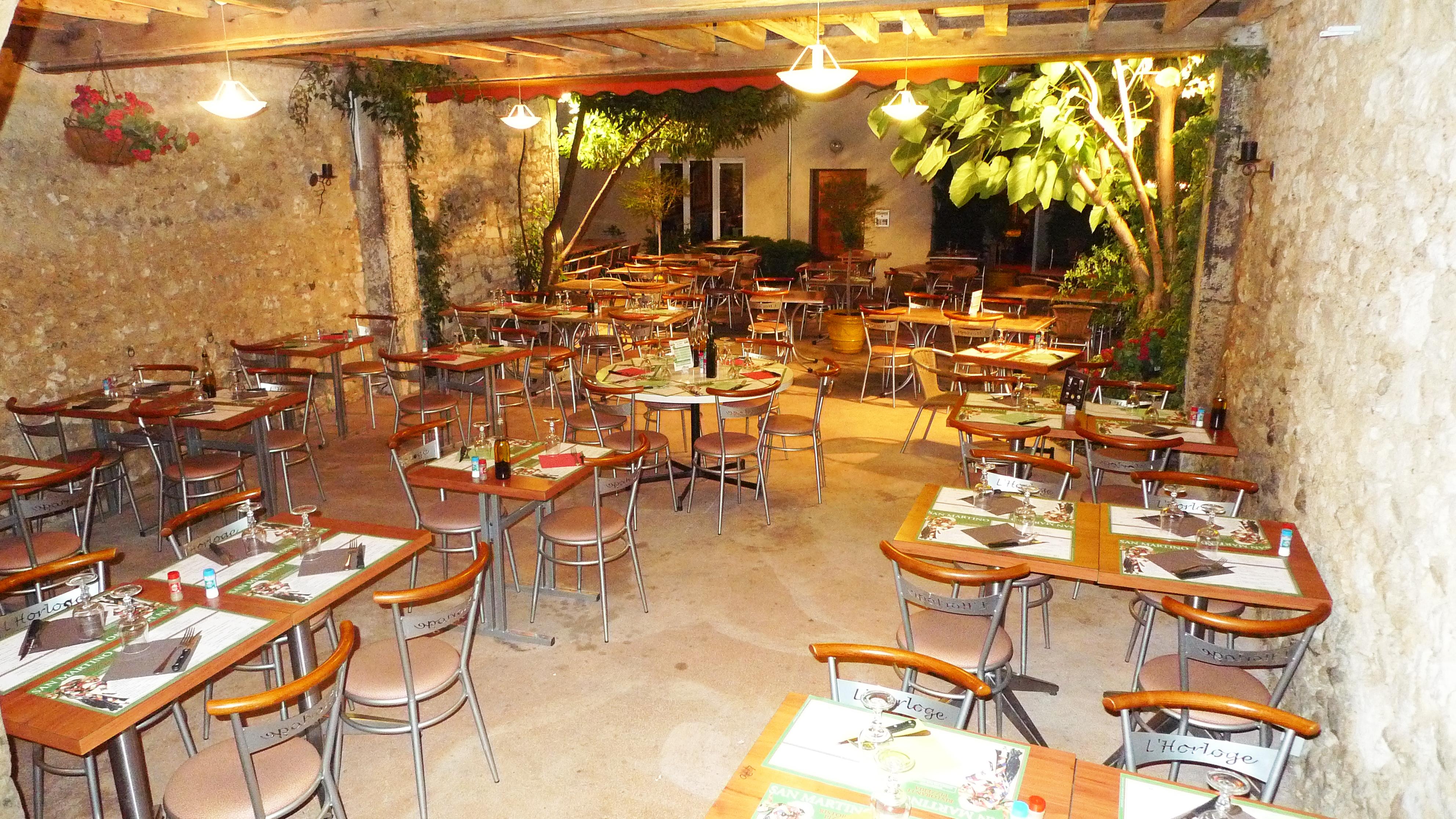 La terrasse - Pizzeria San Martino Vendôme