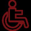 Accès handicapé - Pizzeria San Martino